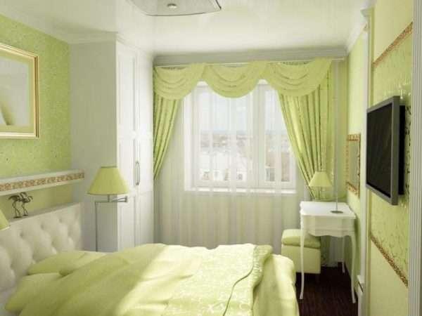 Дизайн маленькой спальни 7 кв. м