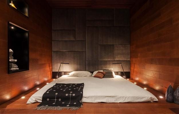 Необычный дизайн спинки кровати