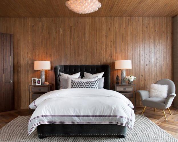 Деревянные стены, полы и потолок