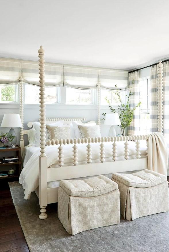 Легкая воздушная спальня