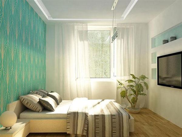спальня 7 кв м дизайн фото