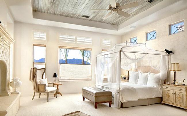 спальня Средиземноморский стиль