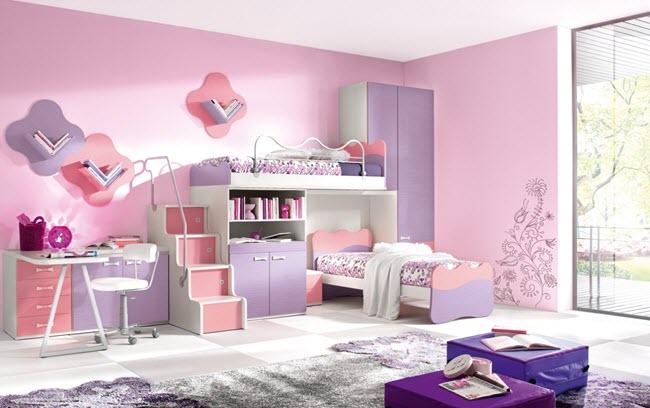 для ребенка лучше выделить комнату большего размера