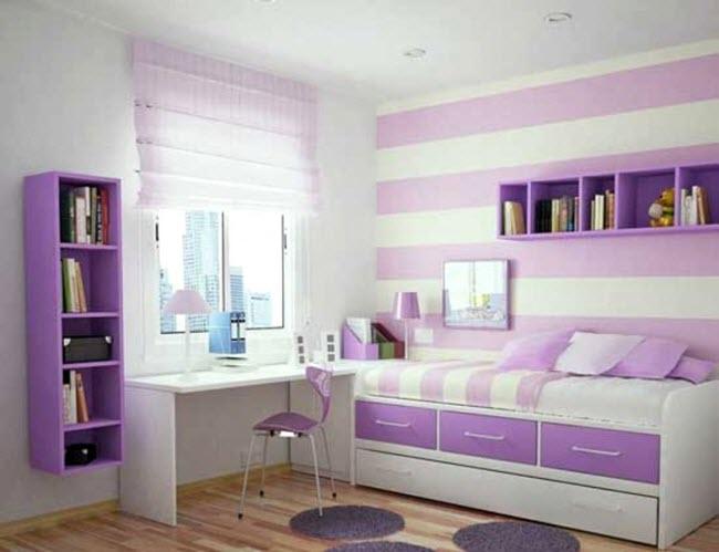 Для комнаты девочки следует правильно подобрать стиль