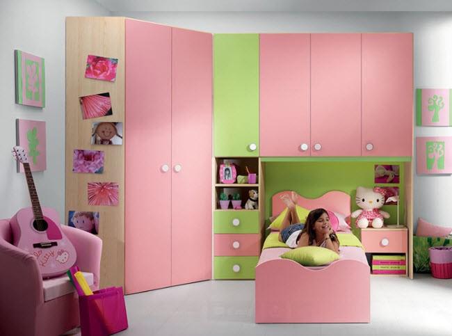 Обстановка для спальни девочки