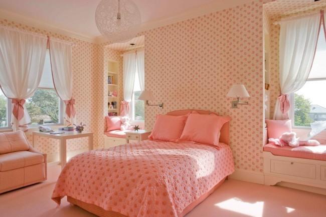 детская спальня для девочки дизайн фото