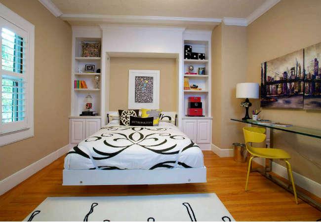 маленькая спальня дизайн фото 10 кв м