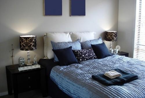 Варианты цветового оформления спальни