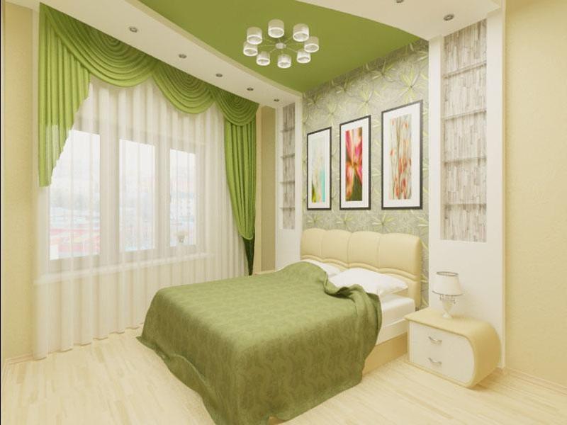 Принципы дизайна спальни 10 кв.м.