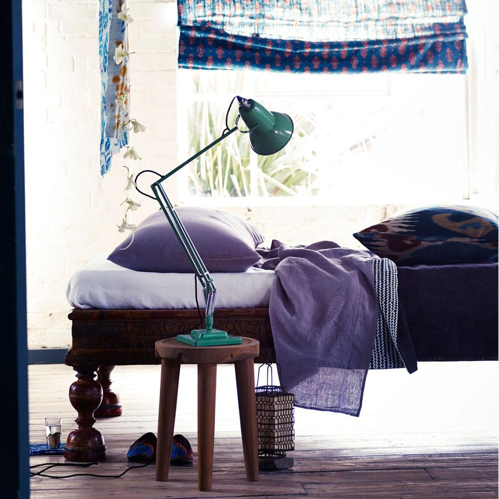 фиолетовые аксессуары для спальни