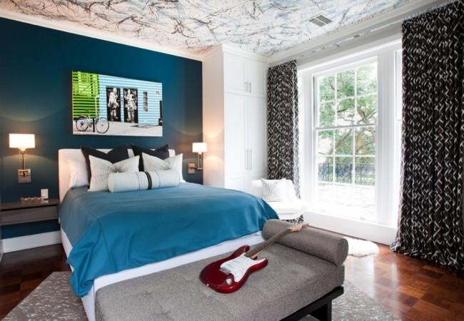 Спальня хай тек: 10 фото дизайна интерьера