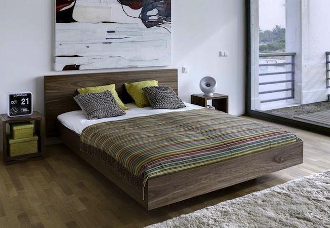 зонировании спальни