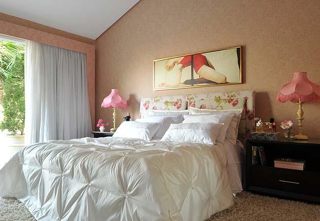декоративная отделка спальни