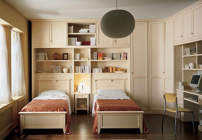 детская спальня Две односпальные кровати