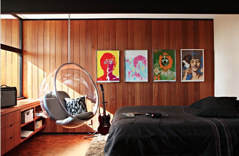 Спальня в стиле парижской квартиры