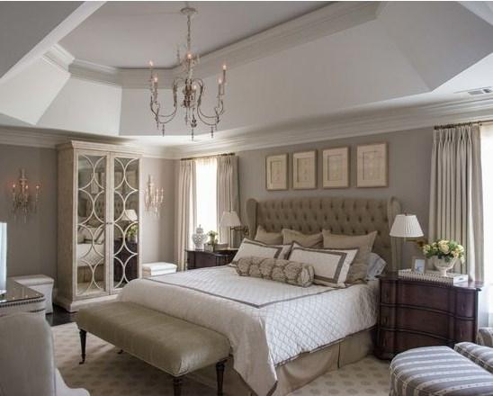 идеи для дизайна большой спальни
