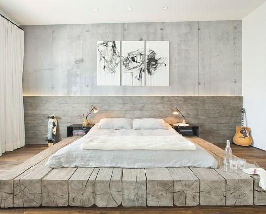 для большой спальни