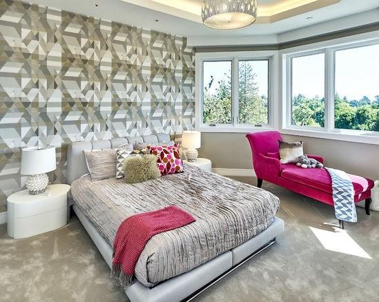 дизайн спальня 17 кв м