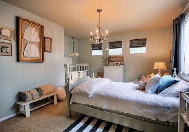 зонирование для маленьких спален