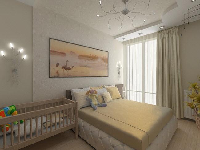 Особенности зонирования спальни