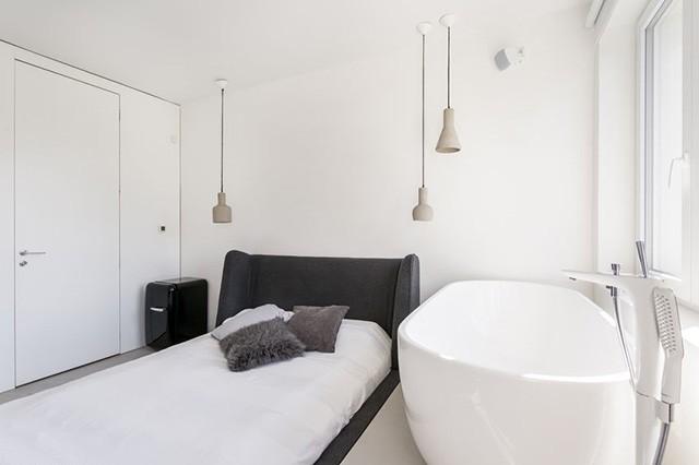 Эстетичный интерьер с ванной