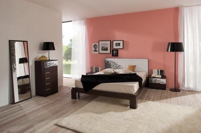 Ошибки расположения кровати в спальне