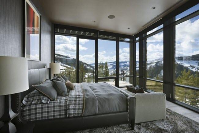 зонирование больших спален