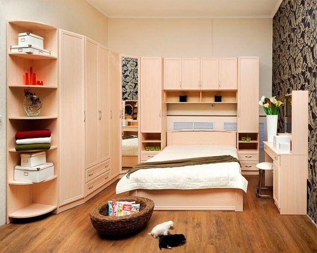 бельевые пеналы в спальне