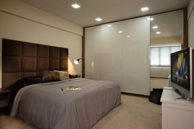 шкафы для больших комнат в классическом стиле