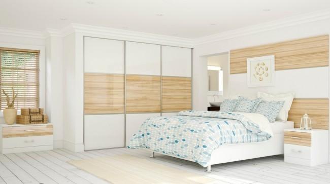 спальни в строгом стиле хай-тек