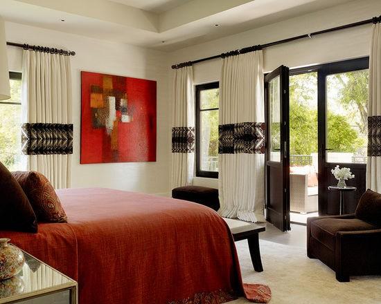 выбор стилевого решения для бежево-коричневой спальни