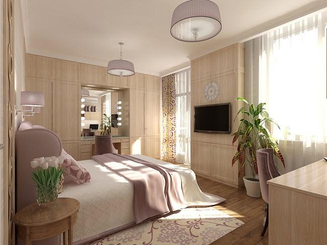 Эко-стиль для спальни