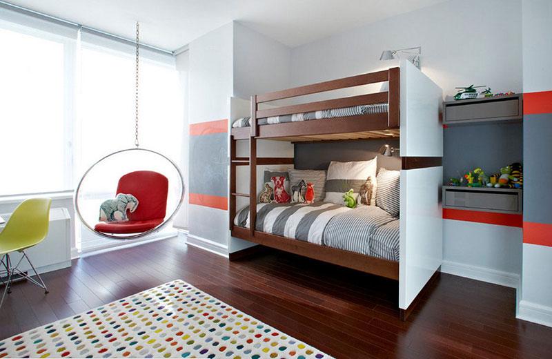 Спальня для двух мальчиков разного возраста