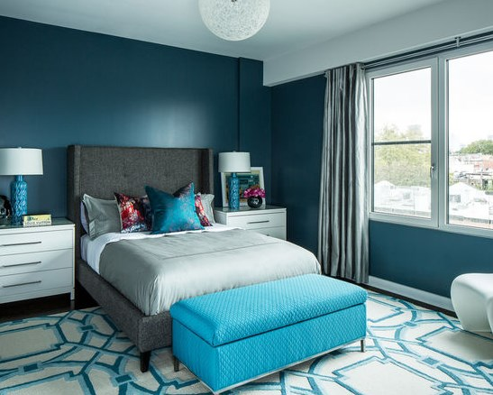 элегантная и располагающая спальню