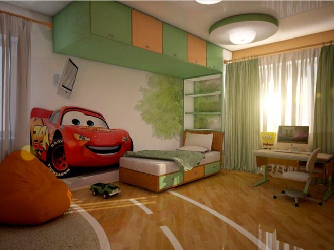 навесные конструкции для спальни