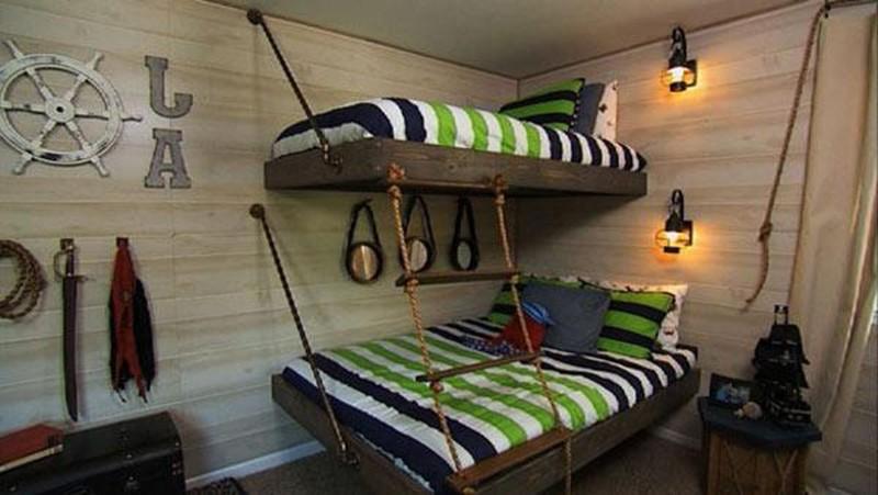 спальня для мальчика и девочки вместе дизайн