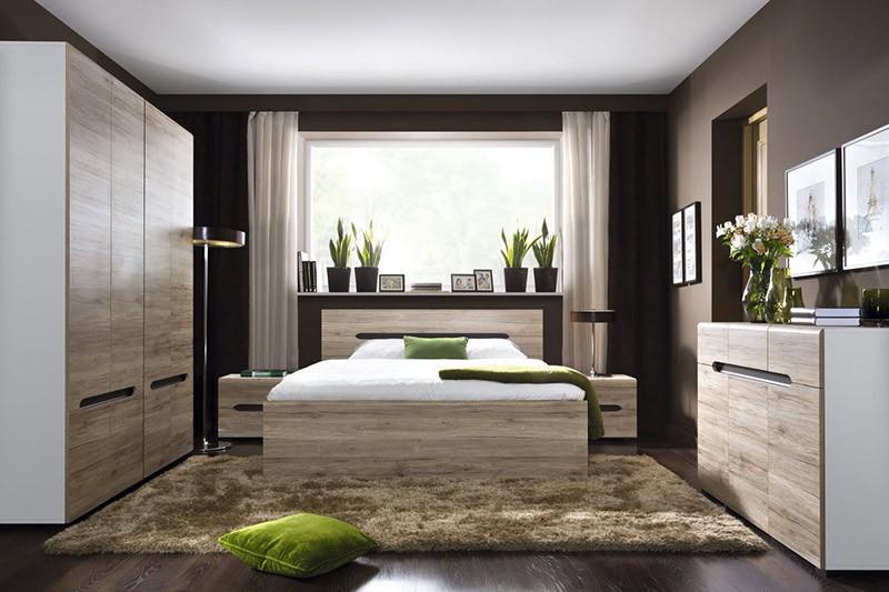 Дизайн интерьера узкой спальни в хрущевке: 20 фото