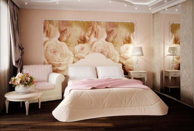 способ декорирования спальни