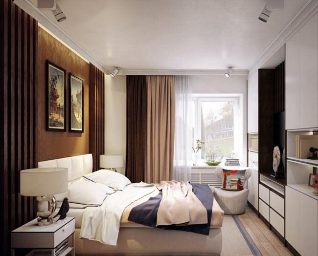 планировка спальной зоны