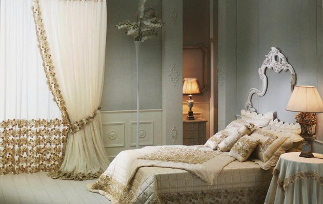 идеальное сочетание шелковых штор