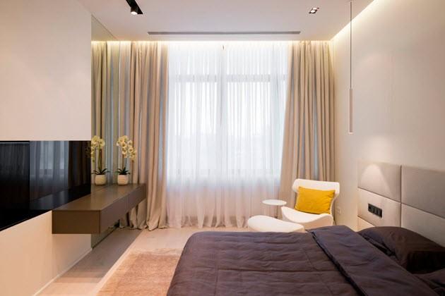 виды штор для спальни