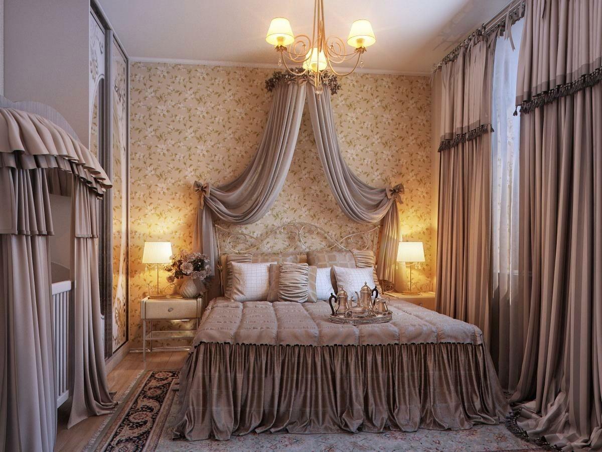 шторы в спальню крепятся