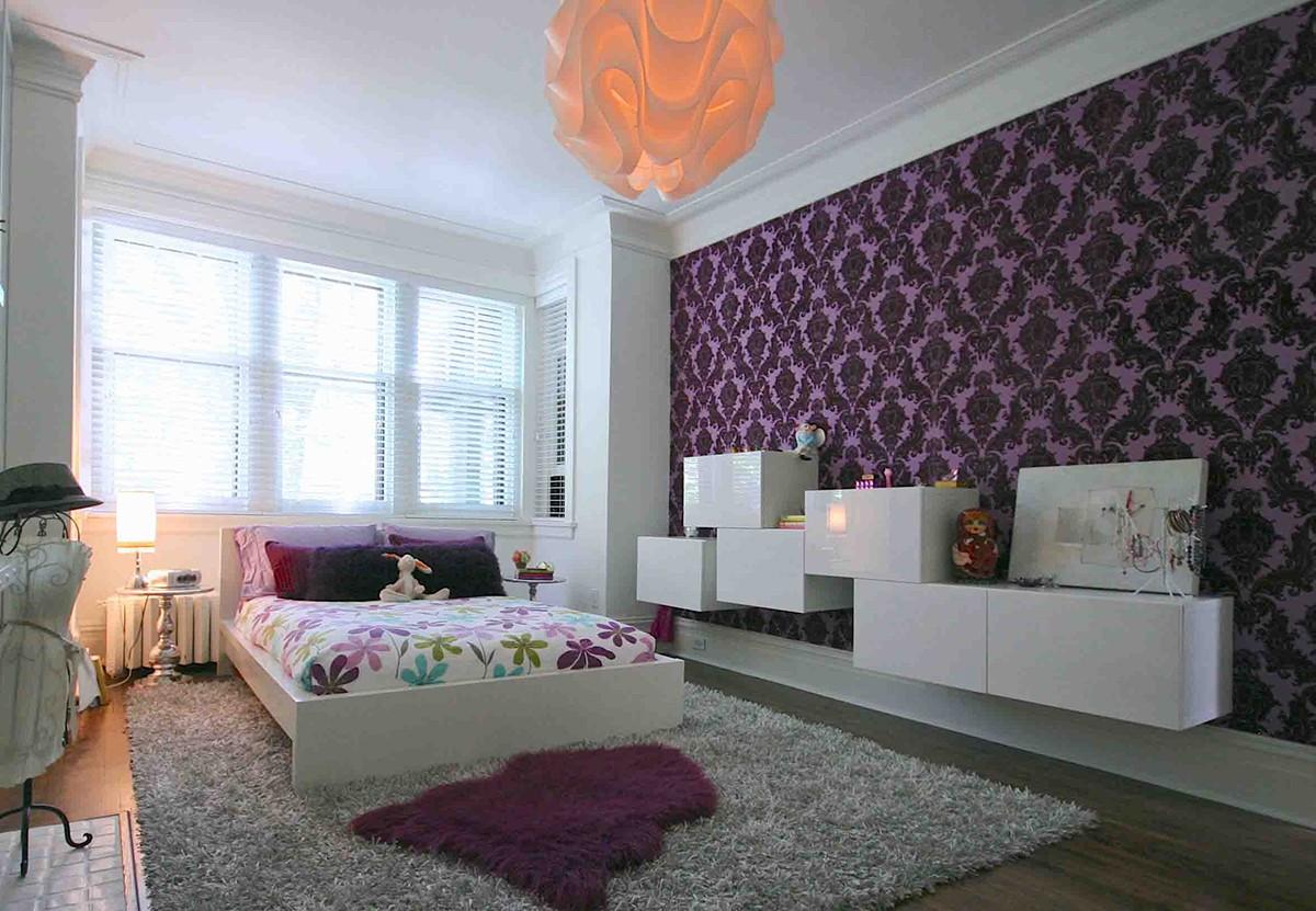 Дизайны комнат фото с обычными обоями
