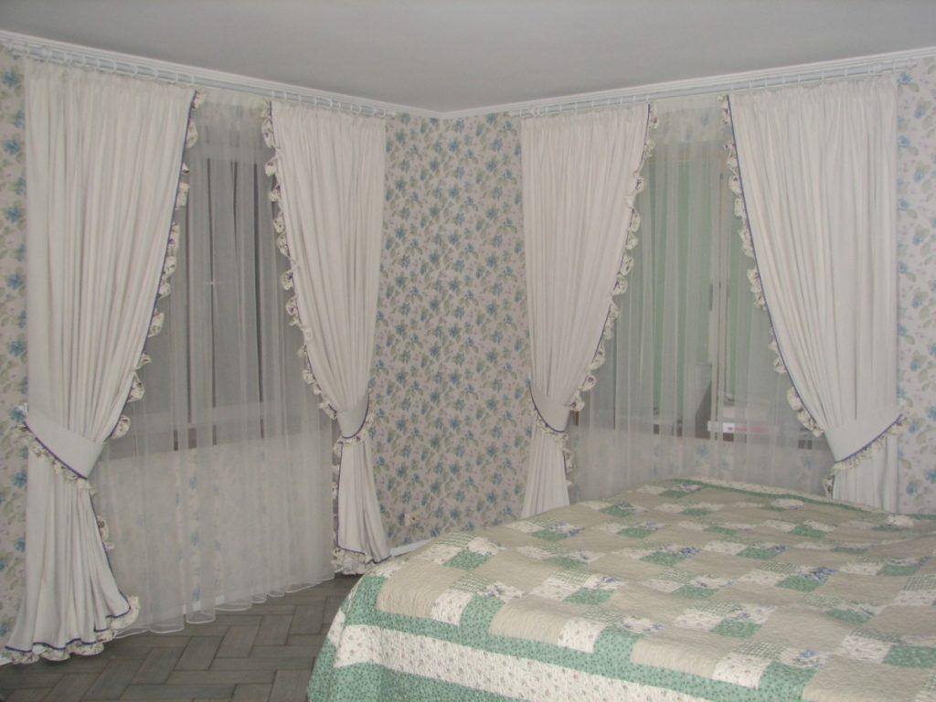 расположение и размер спальни