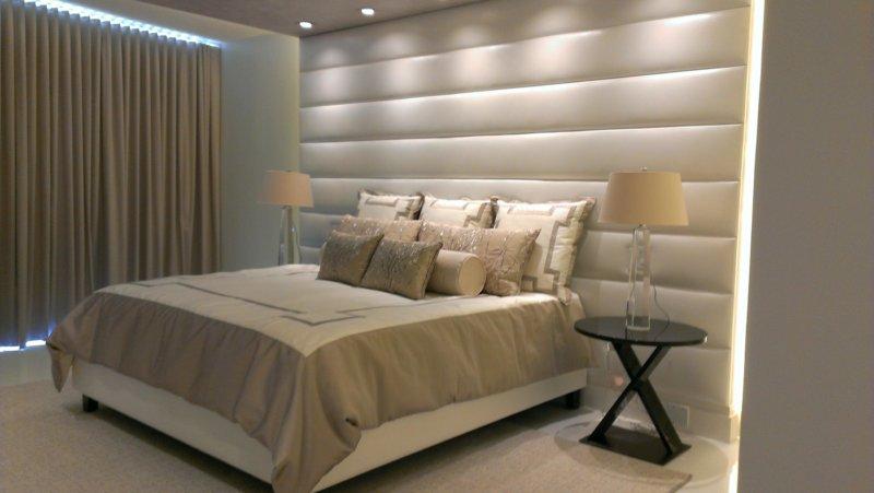 мягкие стеновые панели для спальни