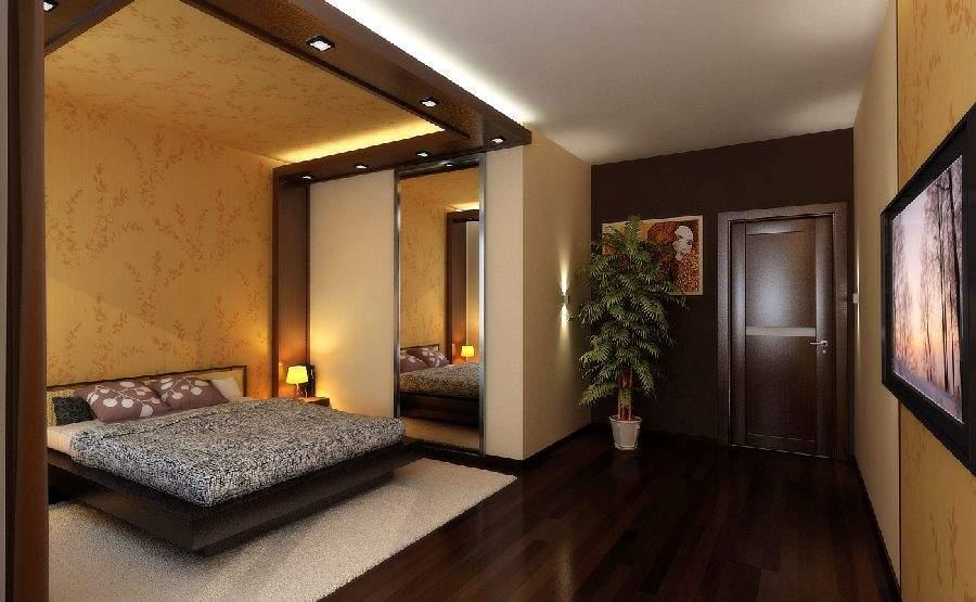 потолок и стена в едином стиле