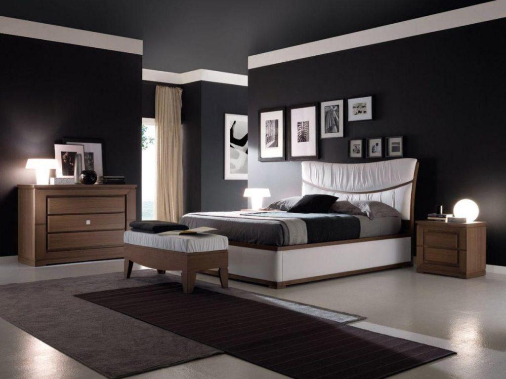 какой цвет стен выбрать для спальни