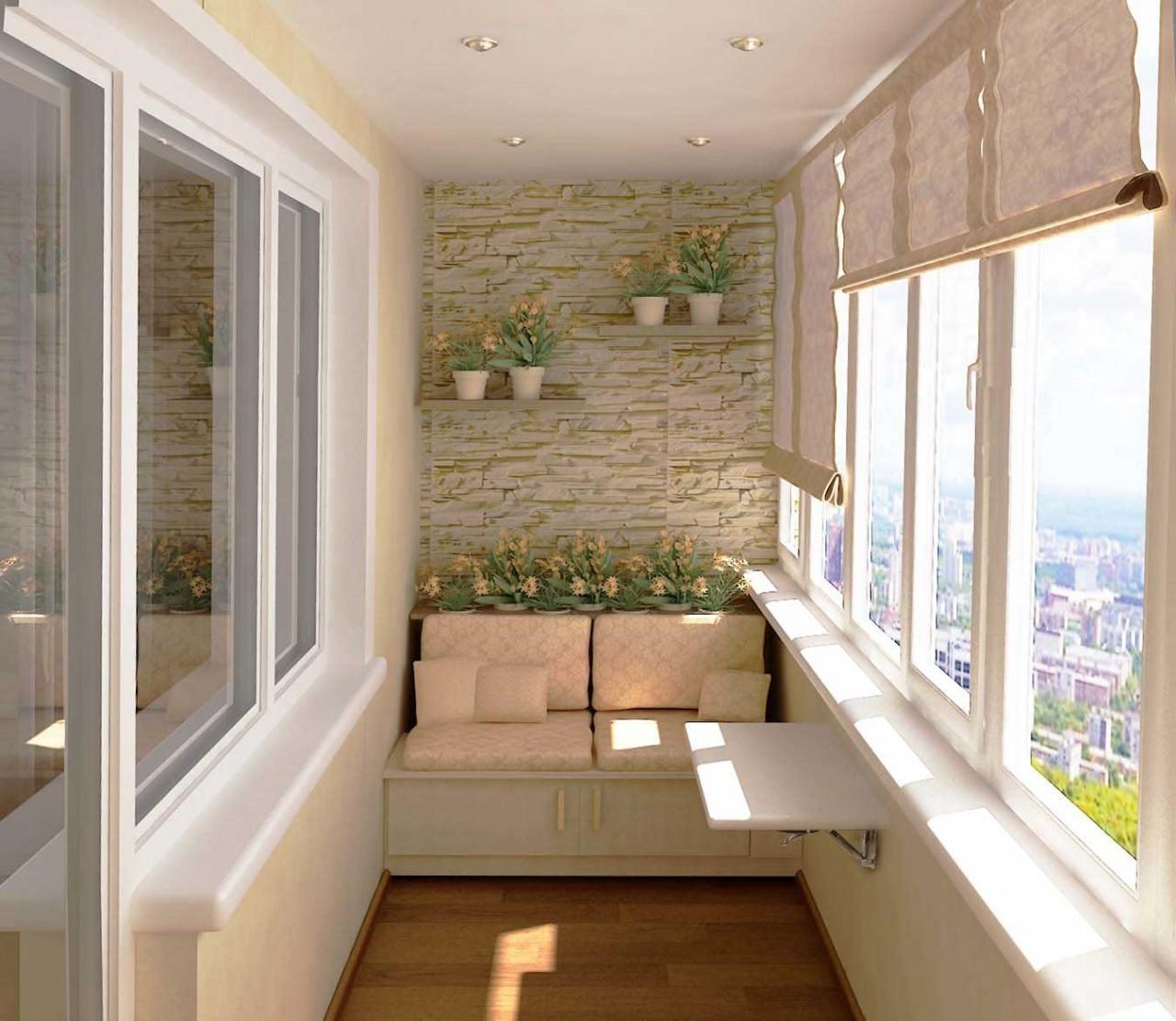 использование балкона для спальни