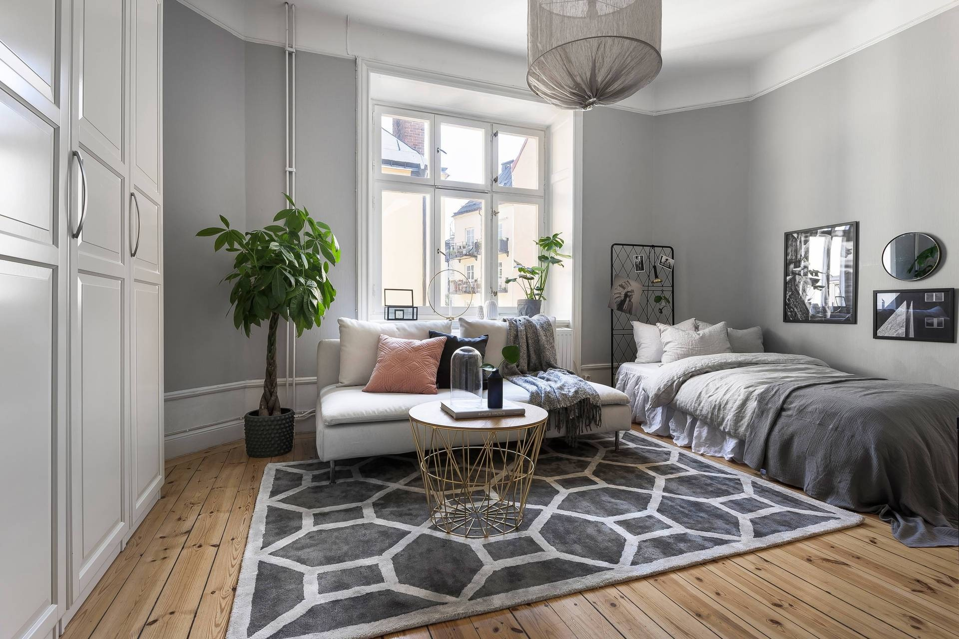 оттенки мебели и отделки