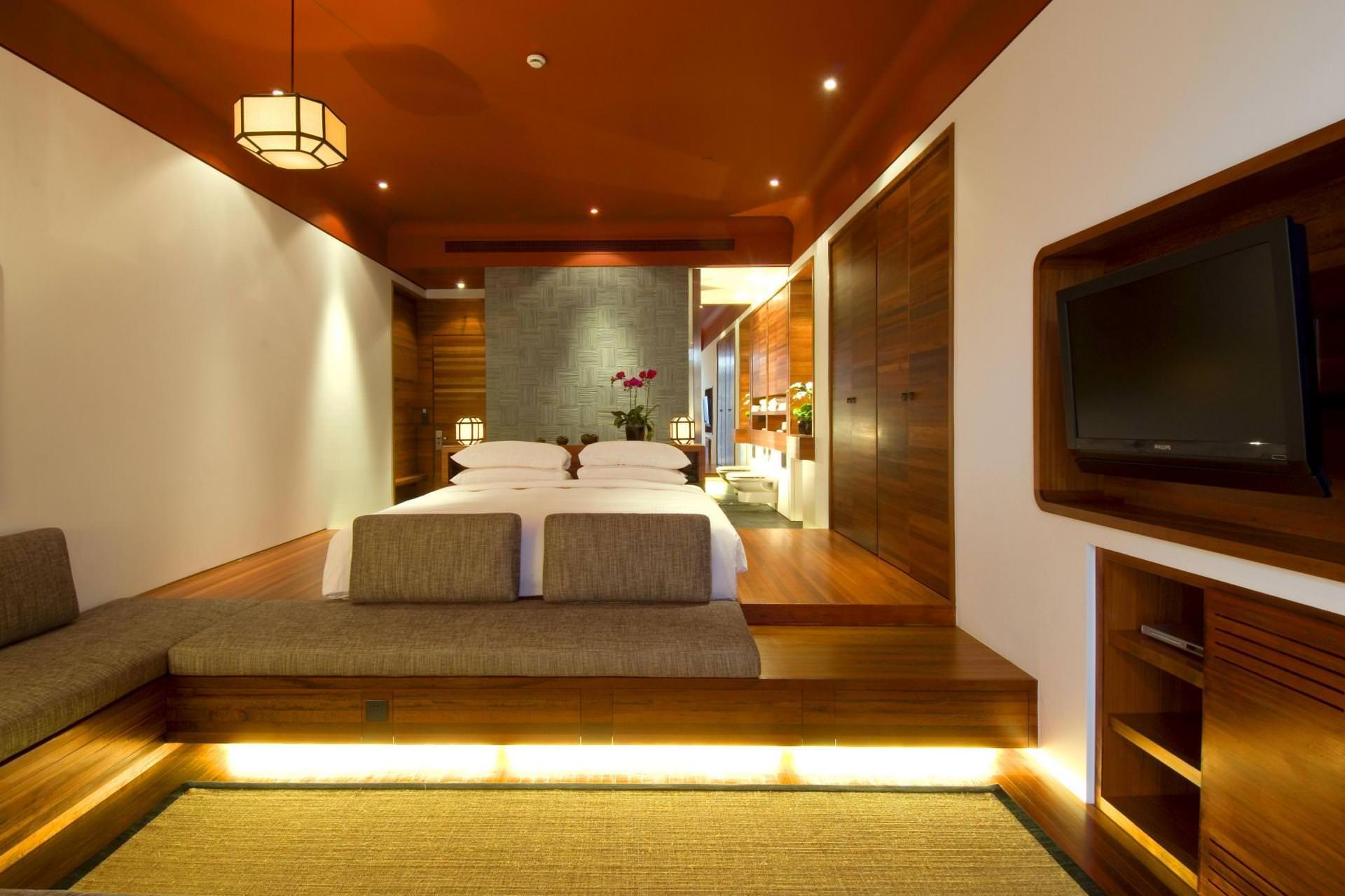 дизайн спальни гостиной 17 кв м фото